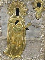Антиквариат. антикварная скульптура, связная, надглазурная роспись, Украина, Барановска, Присяжнюк, 20 век
