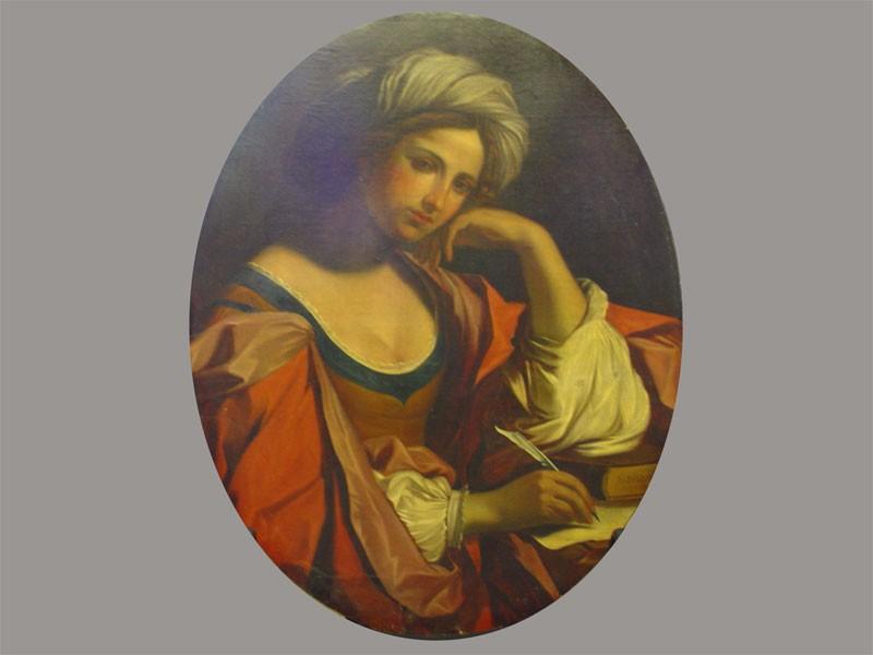 Неизвестный художник, «Сивилла», холст, масло. Западная Европа, XIXвек, размер: 90×70см