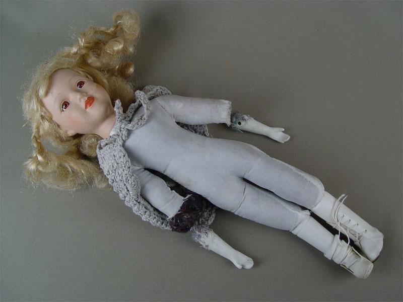 Куклы своими руками мастер класс из фарфора 72