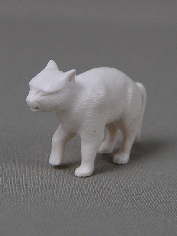 «Кот», кость, резьба, высота— 5,5см