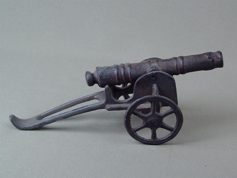Фигура «Пушка», чугун, литье, длина— 21см