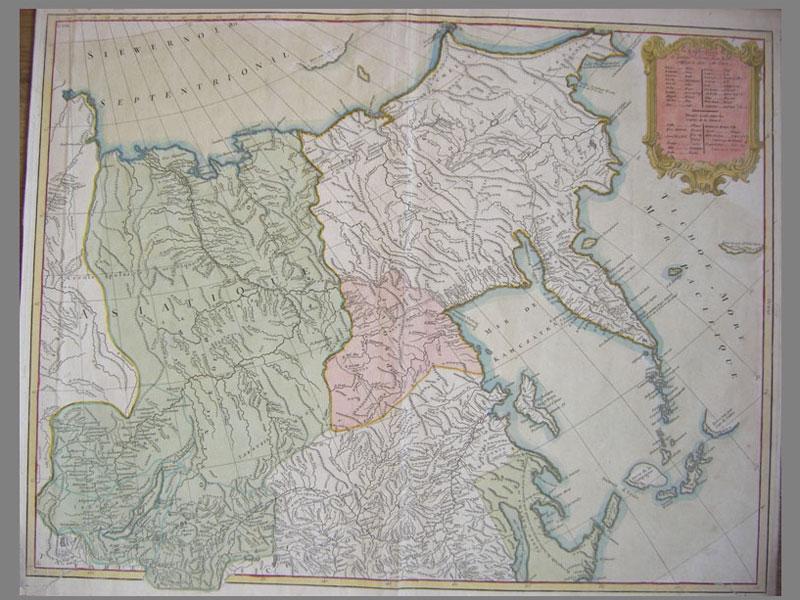 Антиквариат. Карта восточных провинций России