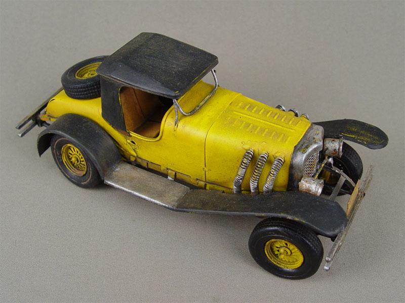 Игрушка «Машинка», металл, покраска, длина— 23см