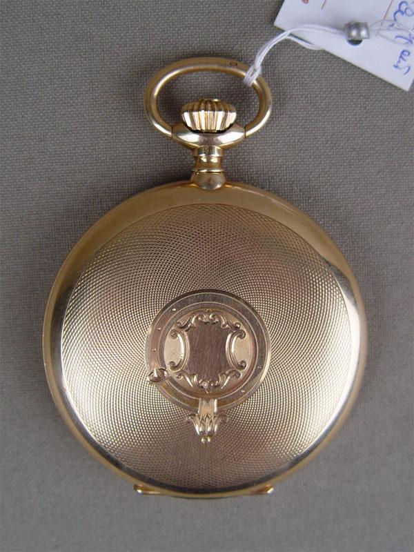 Часы карманные, золото 56пробы, общий вес— 92г. <i></noscript>Циферблат истекло заменены</i>
