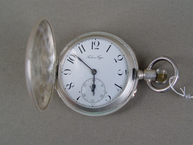 Часы карманные «Павел Буре», серебро 84пробы