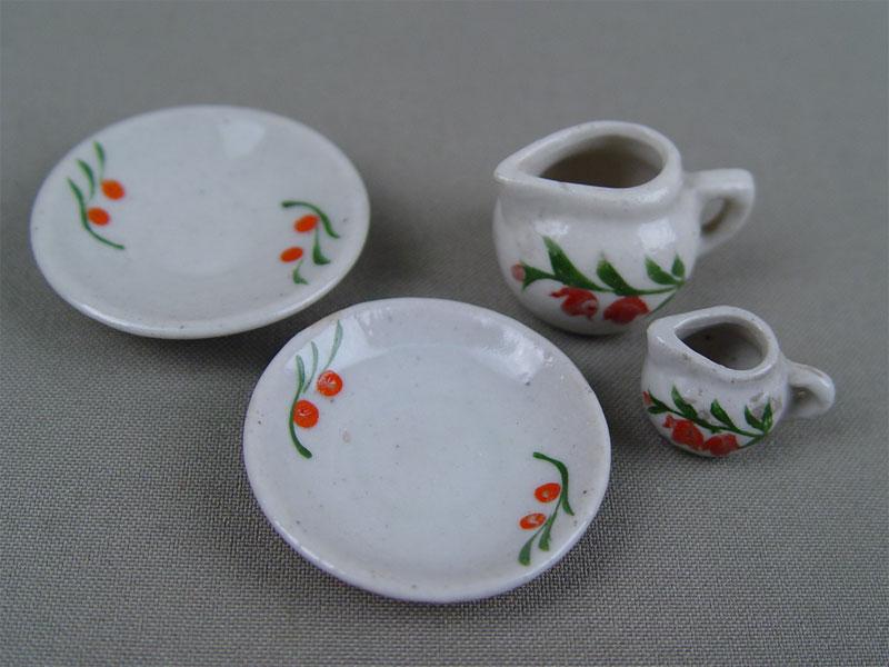 Антиквариат. Детская посуда, фарфор, роспись
