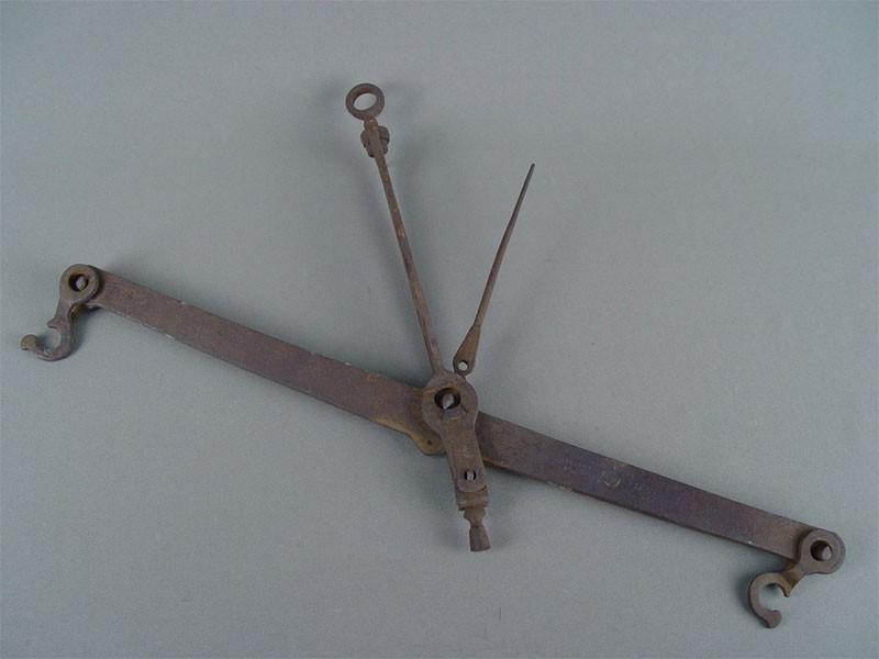 Весы, сталь, 45×30см. Россия, XIXв., клеймо «Афанасий Суслов»