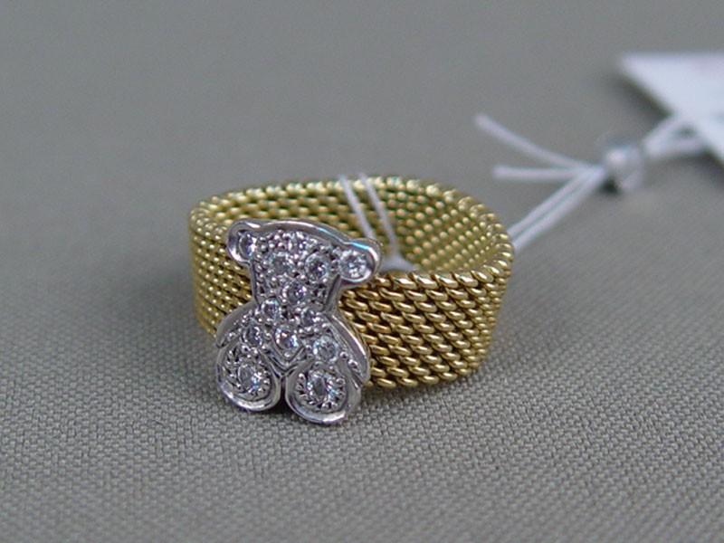 Кольцо, золото пореактиву, общий вес— 8,4г. Вставки: бриллианты (13бриллианта Кр57— 0,23ct 5/5—6), размер кольца 16,5