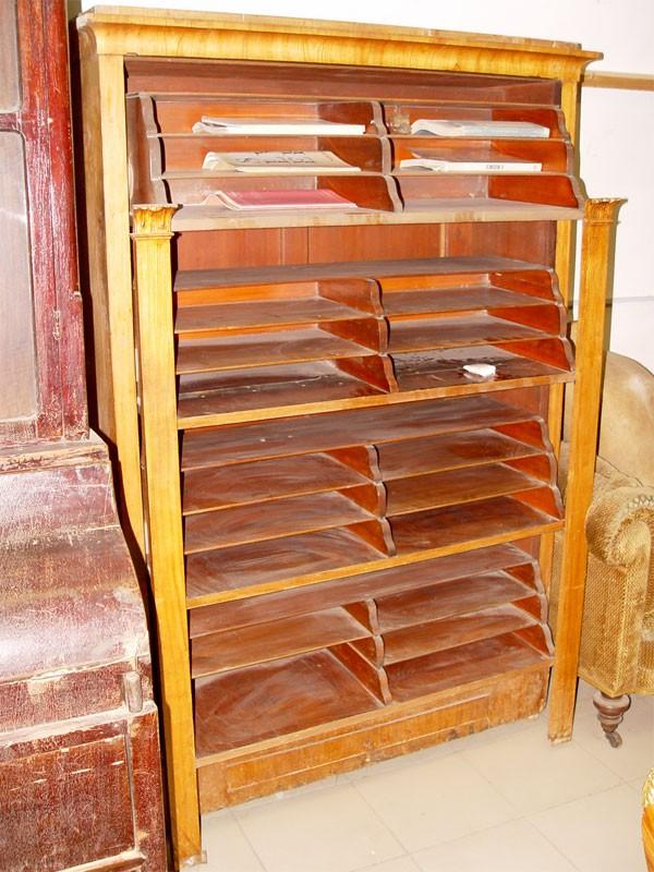 Шкаф-картоньер, дуб, конец XIXвека, 172×116×40см