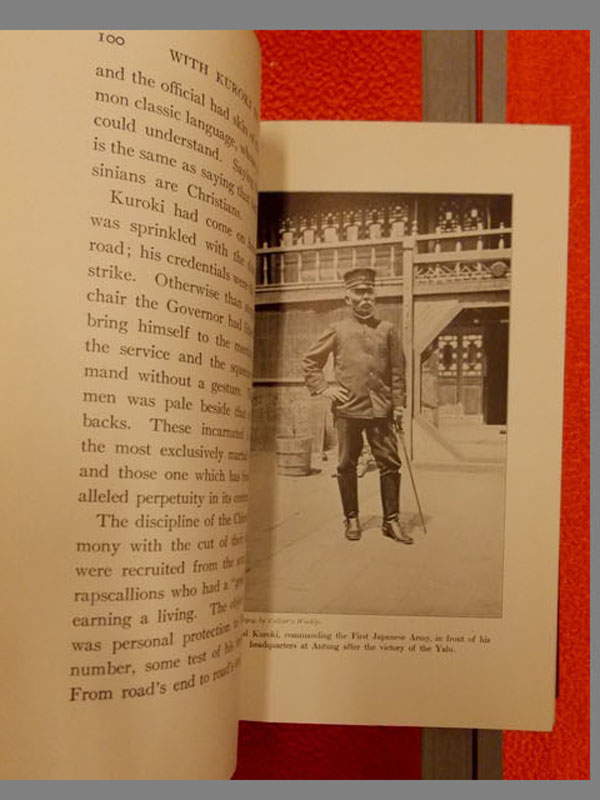По Манчжурии сяпонской армией. /With Kuroki In Manchuria byFrederick Palmer.— New York Ch. Scribner sons, 1904/— 362стр. смножеством фотографий
