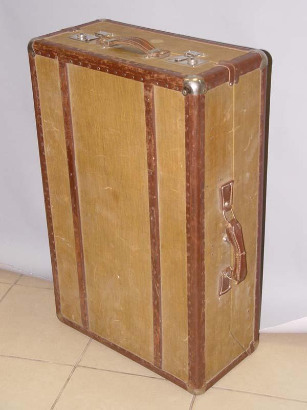 Чемодан, дерево, кожа, 1920—1930-е гг, 76×49см