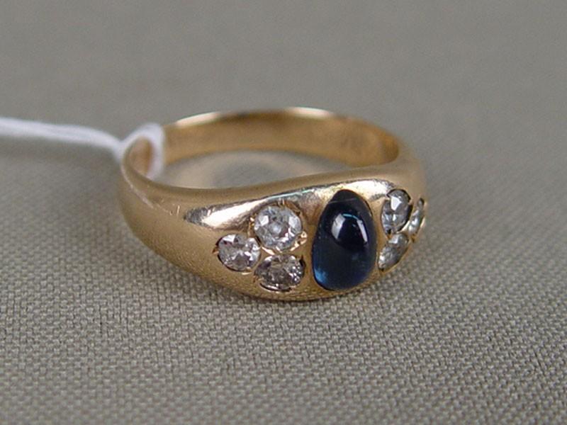 Кольца. антикварное Кольцо, старинное золото, антикварные золотые украшения, бриллианты. сапфир