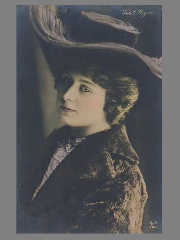Антиквариат. Виолетта, княгиня Монтенегро - Черногорская. автограф