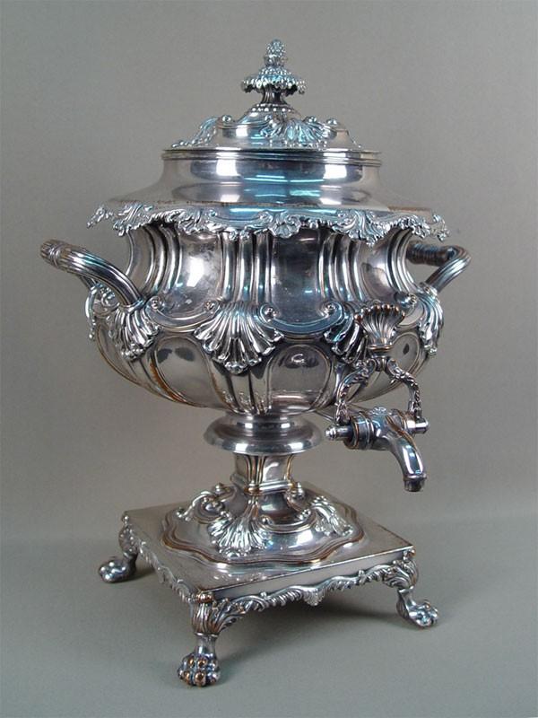 Антиквариат. антикварный самовар, медь, серебрение, старый самовар