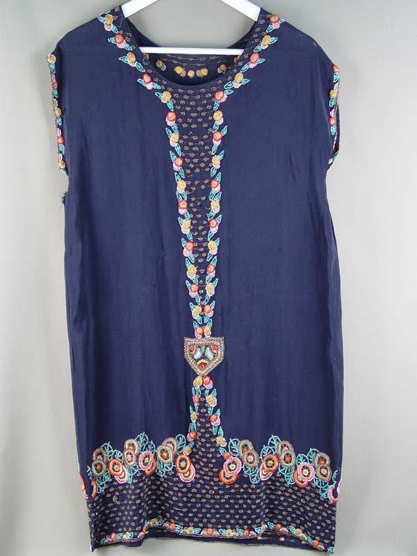 Платье, вышивка бисером, 1930-е годы