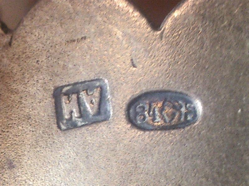 Лампада, серебро 84пробы, гравировка, общий вес— 214г