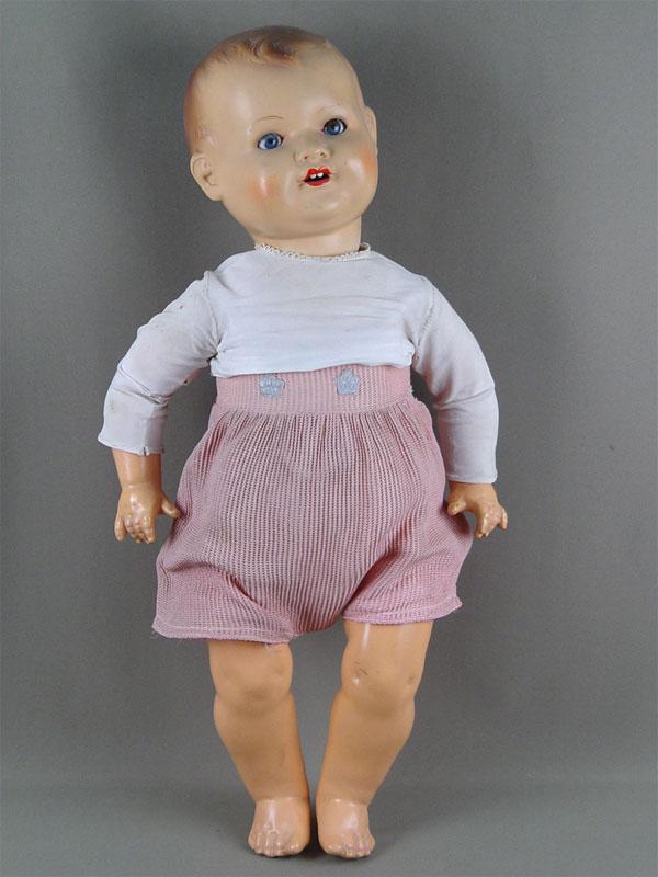 Антиквариат. антикварная Кукла, папье-маше. старинные игрушки