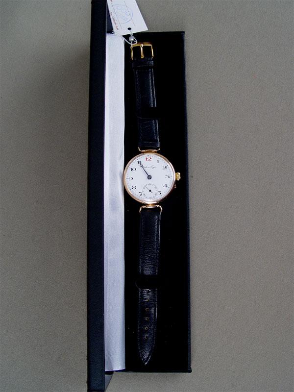 Часы наручные мужские «Павел Буре», золото 56пробы