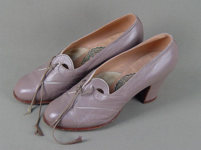 Туфли дамские «Обувная фабрика №1. Москва», 1950-е годы