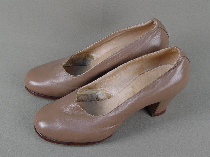 "Туфли дамские «Фабрика ""Парижская Коммуна""», 1950-е годы, размер 36"