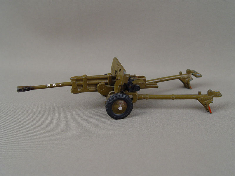 Антиквариат. Игрушка «Противотанковая пушка»