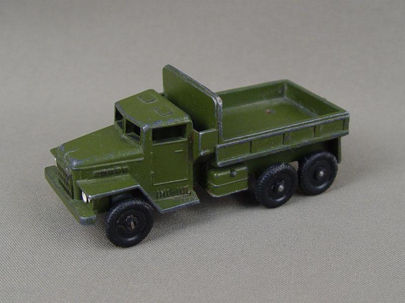 Антиквариат. Игрушка «Военный грузовик»