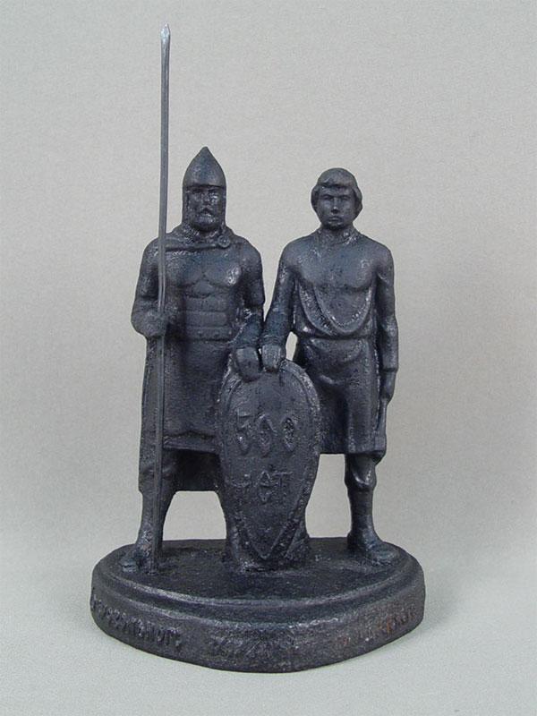 Антиквариат. объединение народов, чугунное литье