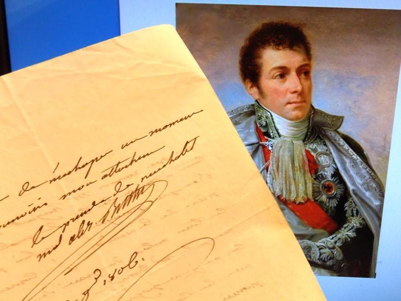 Антиквариат. автограф маршала Империи принца Бертье Луи Александра