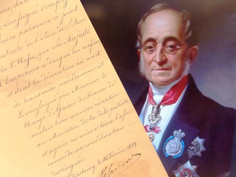Антиквариат. автограф графа Нессельроде, Карла Васильевича