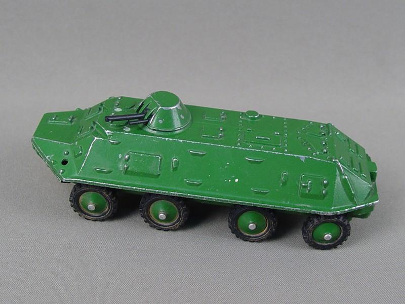Антиквариат. Игрушечная машинка «БТР». игрушка. машина. автомобиль