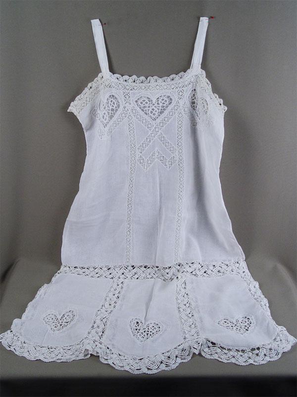 Антиквариат. антикварная Рубашка дамская, батист, кружево