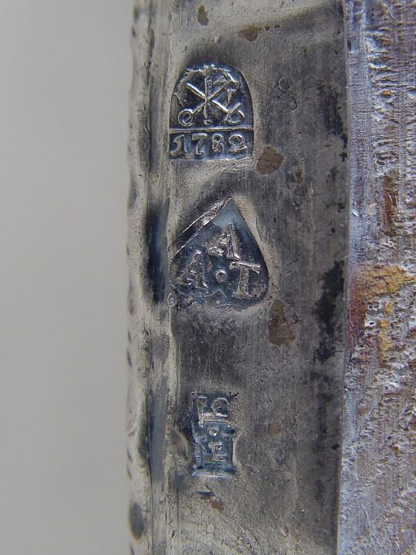 Икона «Богородица Казанская», дерево, темпера; оклад— серебро 84°, 1782год, размер: 26×22см