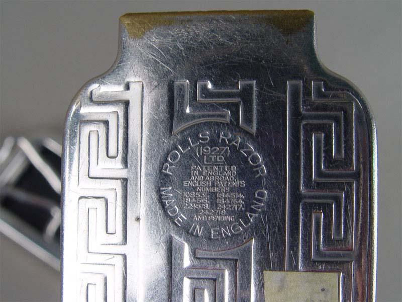 Прибор для заточки бритвенных лезвий. Англия, начало XXвека, длина— 15см