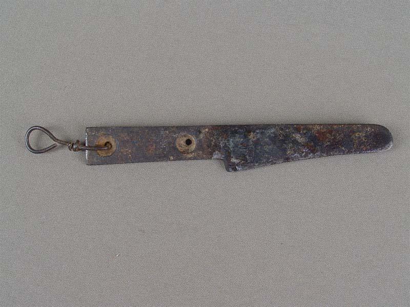 Антиквариат. старинный Нож для бритья крестьянский