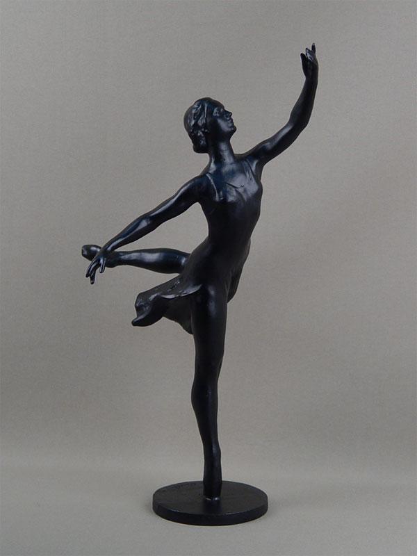 Антиквариат. «Балерина», силумин. балет