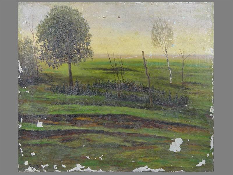 Антиквариат. старинная живопись. Пейзаж