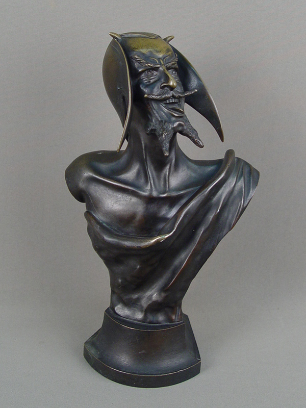 Антиквариат. «Мефистофель», бронза