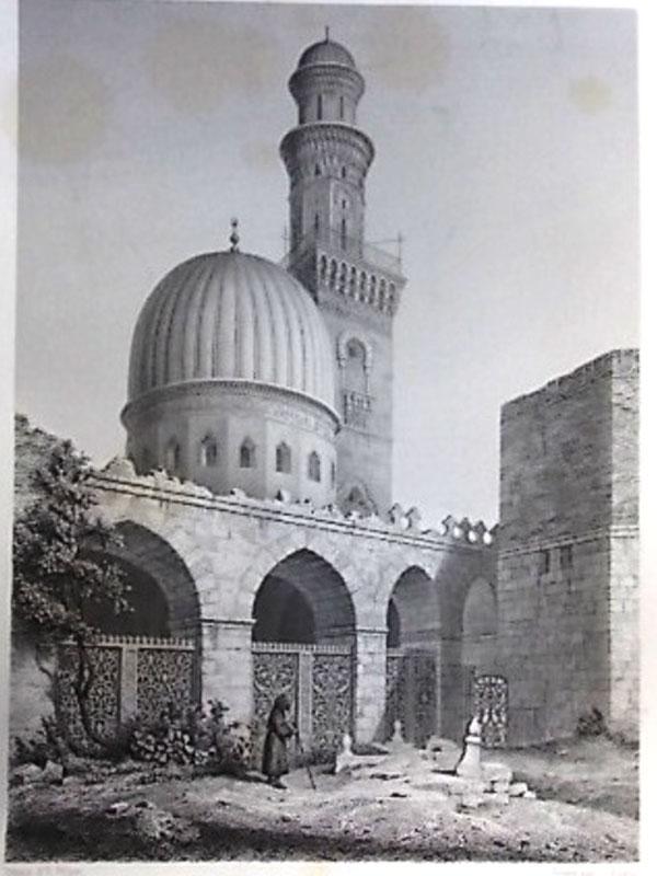 Антиквариат. Египет. Мечеть Эл-Каули. Каир. ислам