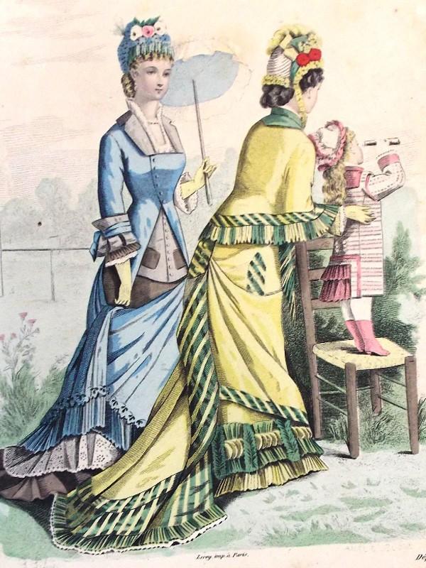 Антиквариат. Туалеты. моды. история моды. старинные платья