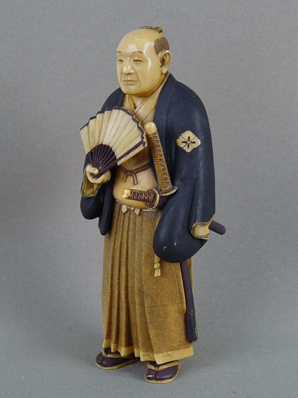 Антиквариат. Окимоно «Самурай»