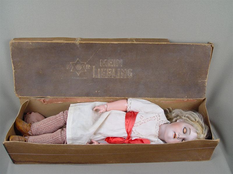 Антиквариат. Кукла старинная фарфоровая голова
