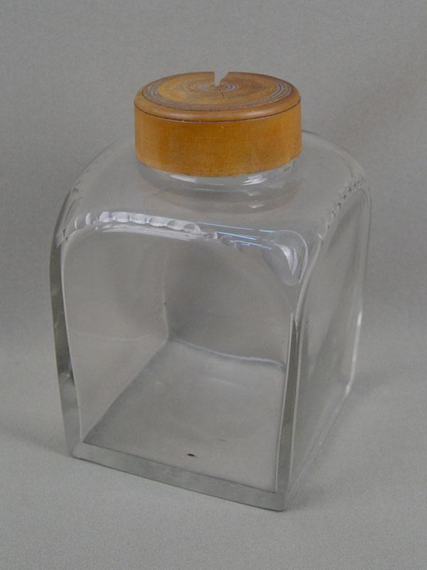 Антиквариат. Чайница, антикварное стекло