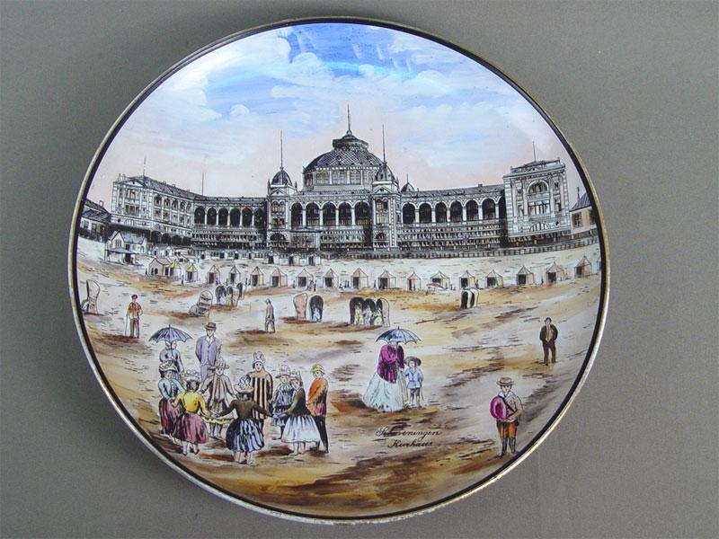 Антиквариат. Тарелка декоративная «Дворцовая площадь»