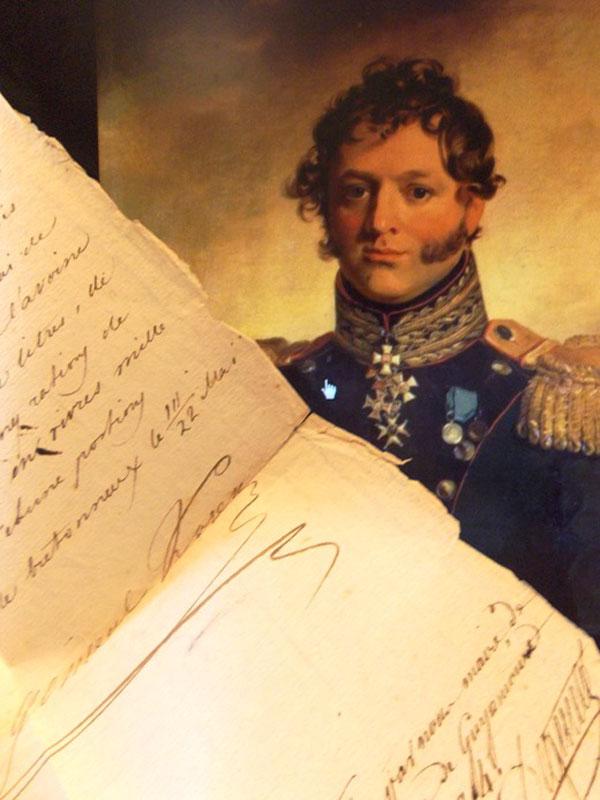 Антиквариат. Русские в Париже в 1814 году. война 1812 года