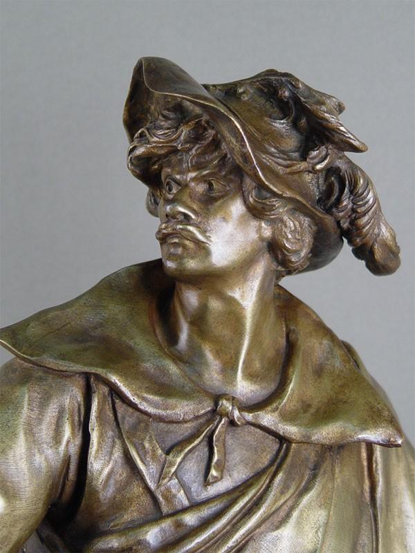 Скульптура «Don Cesar de Bazan», бронза, литье, патинирование, конец XIX— начало XXвека, высота— 59см