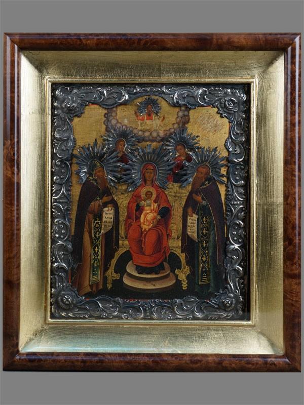 Антиквариат. Икона Пресвятая Богородица Печерская