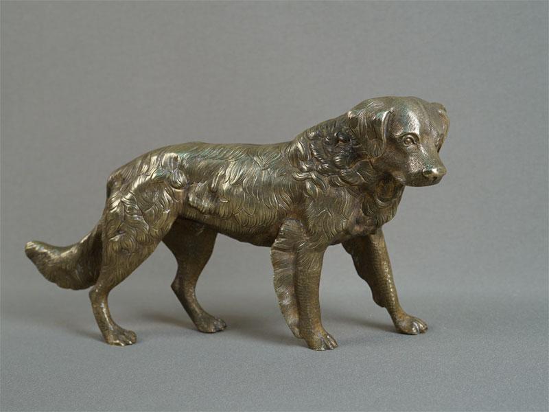 Антиквариат. «Собака», бронза