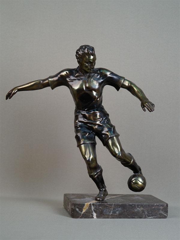 Антиквариат. «Футболист» спорт футбол