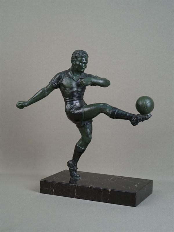 Антиквариат. «Футболист», футбол. спорт