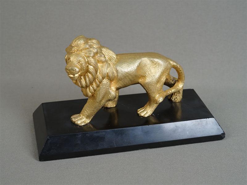 Антиквариат. «Лев», бронза